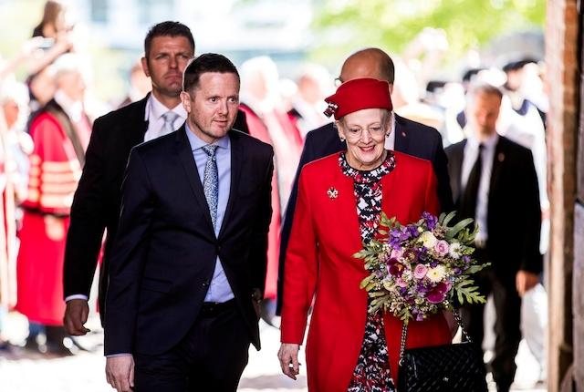 Livestreaming: H.M. Dronningen åbner Koldinghus